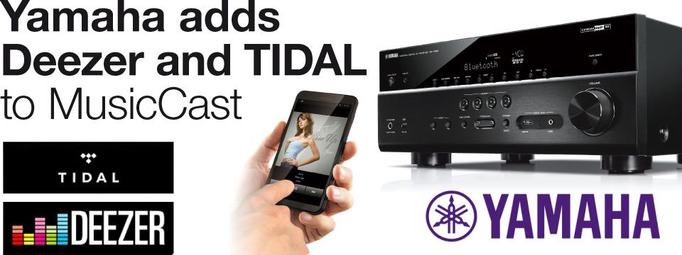 Yamaha uses airable.API for Internet Radio, Deezer and MusicCast